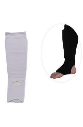 Захист MS 0674 M для боротьби, еластичний, для ніг, гомілка+стопа, розмір M, 2 кольори, кул., 14,5-2