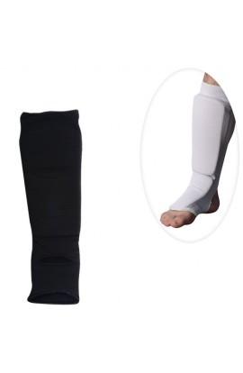 Захист MS 0674 S для боротьби, еластичний, для ніг, гомілка+стопа, розмір S,2 кольори, кул., 13-28-6