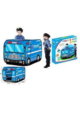 Намет M 3716 автобус, 1 вхід на липучці, 3 вікна, 3 види (1 вид-поліція), кор., 37,5-37,5-6 см.
