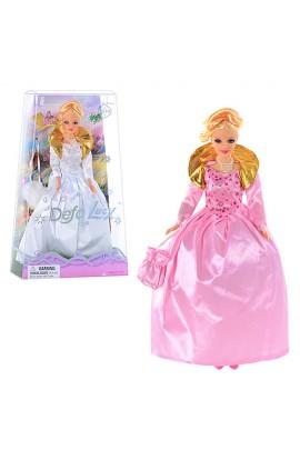Лялька DEFA 20997 сумочка, 2 види, кор., 33-20,5-6 см.