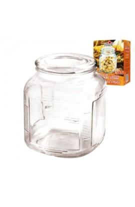 Банка скляна для сипких 500мл, 11,5*9см, MS-0225