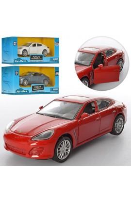Машинка TOP 301 мет., інерц., відчин. двері, 3 кольори, кор., 16-7,5-7 см.