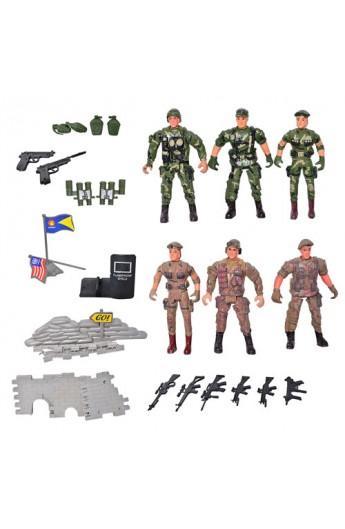 Солдат 8810 6 шт., кул., 24-13 см
