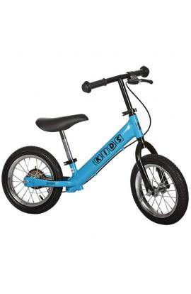 Беговел PROFI KIDS дитячий 12 д. M 3440AB-1 гумові колеса, мет. обод, гальмо, ексцетрики, блакитний.