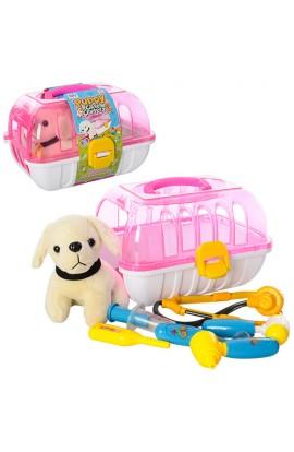 Лікар 251 собачка, чемодан, 6 предметів, кул., 26-18-20 см