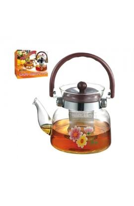 Чайник скляний 600мл, MS-0131