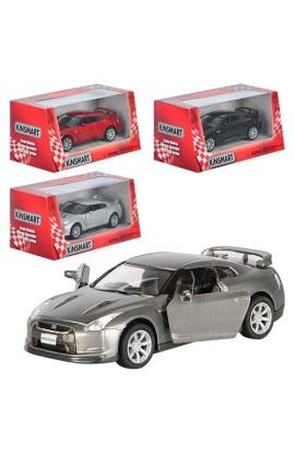 Машинка KT 5340 W мет.,інерц., гумові колеса, відчин. двері, 4 кольори, кор., 16-7,5-8 см.