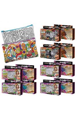 """Набір креативної творчості  """"My Color Clutch """" пенал-розмальовка, CCL-01-01, 02, 03, 04, 07, 08"""
