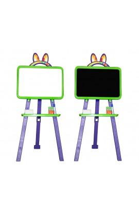 Дошка для малювання магнітна 013777/6 салатово-фіолетова