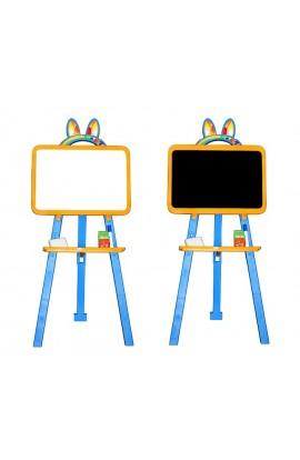 Дошка для малювання магнітна 013777/1 жовто-голубий
