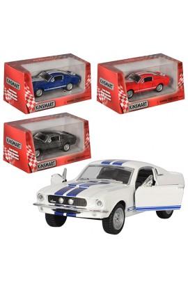 Машинка KT 5372 W інерц., мет., 1:38, відкр. двері, гумові колеса, 4 кольори, кор., 16-7,5-8 см