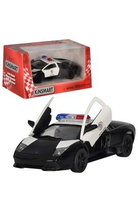 Машинка KT 5317 WP інерц., мет., поліція, 1:36, відкр. двері, гумові колеса, кор., 16-7,5-8 см