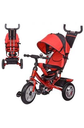 Велосипед M 3113-3A три колеса, колясочний, вільний хід колес, гальмо, підшипник, червоний