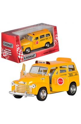 Машинка KT 5005 W мет., інерц., шкільний автобус, кор., 16-7,5-8 см