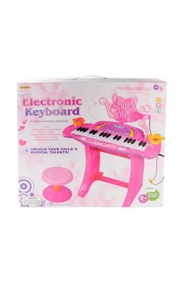 Синтезатор HK-5050C-2 36 клавіш, на ніжках, стільчик, мікрофібра, муз., світло, бат., кор., 5-51,5-1