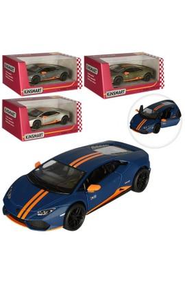 Машинка KT5401W мет., інерц., відчин. двері, 4 кольори, кор., 16-7-8 см.