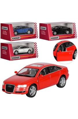 Машинка KT 5303 W мет., інерц., гумові колеса, відчин. двері, 4 кольори, кор., 16-7-8 см.