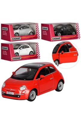 Машинка KT 5345 W мет., інерц., відчин. двері, гумові колеса, 4 кольори, кор., 16-7-8 см.