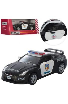 Машинка KT5340WP мет., інерц., гумові колеса, відчин. двері, кор., 16-7-8 см.