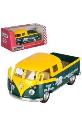 Машинка KT5396W мет., інерц., відчин. двері, гумові колеса, кор., 16-7-8 см.