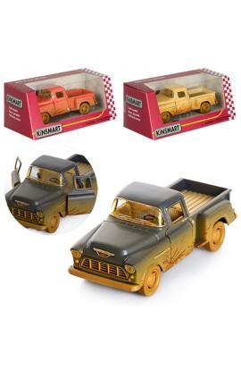 Машинка KT 5330 WY мет., інерц., відчин. двері, гумові колеса, 3 кольори, кор., 16-7-8 см.