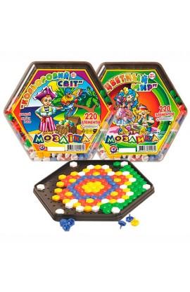 """Іграшка мозаїка  """"Кольоровий світ ТехноК """""""