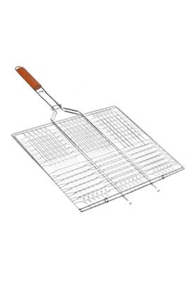 Решітка для грилю металева 58,5x40x30см, MH-0162