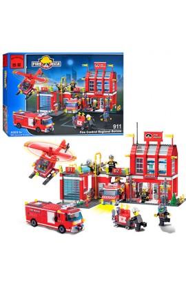 Конструктор BRICK 911 Пожежна тривога, кор., 54-39-7 см