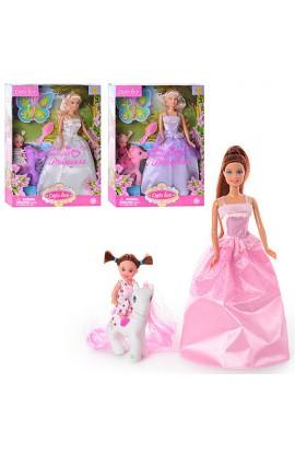 Лялька DEFA 8077 2 шт., з аксесуарами
