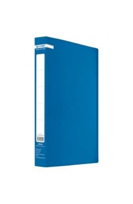 /Папка пласт. з 2-ма кільцями, А4 (25мм), JOBMAX, синій