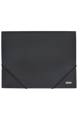 Папка на резинке A4 D1920-01, черная