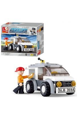 """Конструктор SLUBAN M38-B0359  """"Авіація """": техніка, фігурка, 75 дет."""