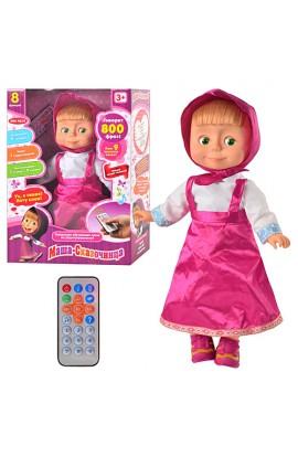 Лялька MM 4614 розповідає казки, пульт, муз., кор., 39-27-12 см