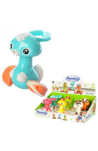 Заводна іграшка 661-804 тварина, їздить, 6 шт. (3 види) в диспл., 45-23-15,5 см.