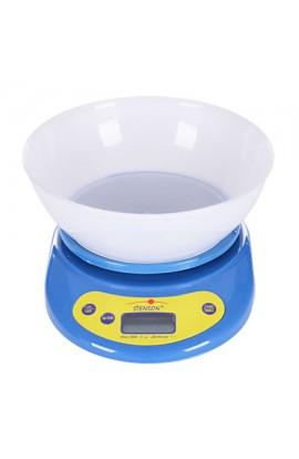 Ваги кухонні електронні 0~5kg, ME-0910