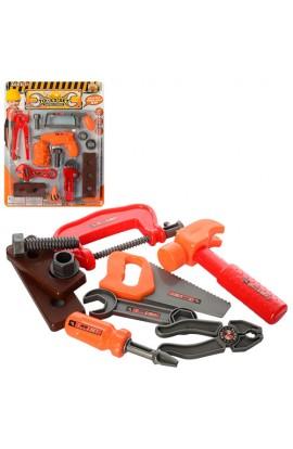 Набір інструментів 36778-X ключі, 2 види (1-молот, пила, викрутка, 2-дриль, кліщі), лист, 32-24-3,5