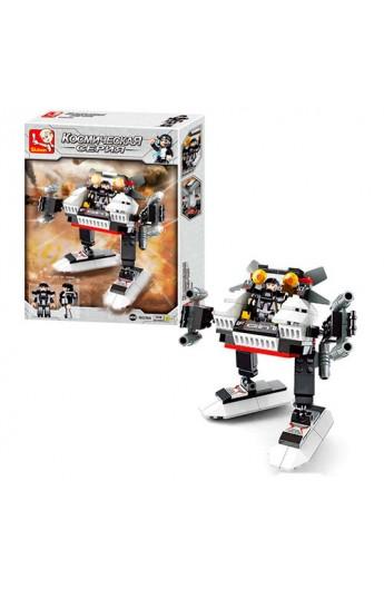 Конструктор SLUBAN M38-B0336A космічна серія, робот, 108 дет., кор., 26-19-4,5 см