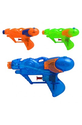 Пістолет водяний дитячий M 0869 U/R 3 кольори, кул., 15 см