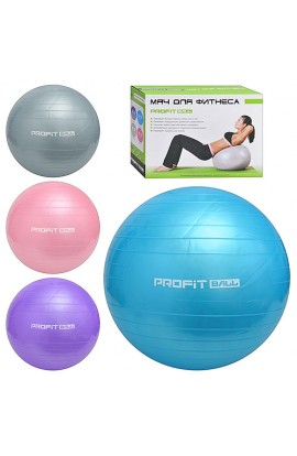 М'яч для фітнесу M 0275 U/R 700 г, 55 см
