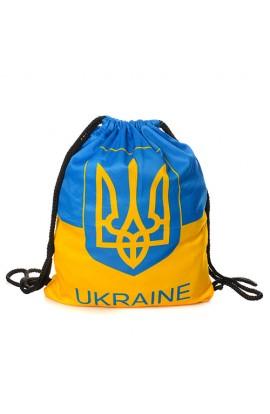 Сумка MK 1280 рюкзак для взуття, 1 відділ, Україна, кул., 45-35 см.