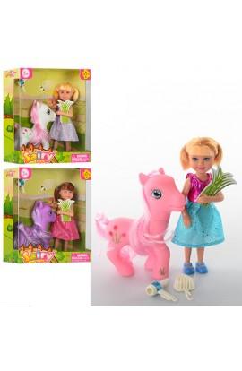 Лялька DEFA 8303 коник, аксесуари, 3 види, кор., 15-16,5-6 см