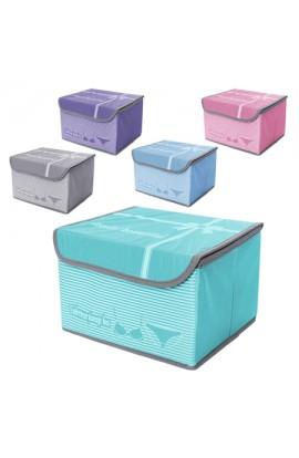 Ящик ПВХ для хранения вещей 25*20*17см, R15757