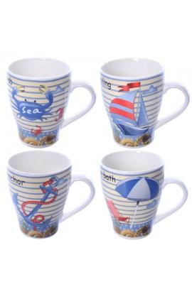 Чашка порцелянова 375 мл 12шт/пал, R17620