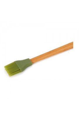 Пензлик силіконовий з бабмуковою ручкою, D-500B