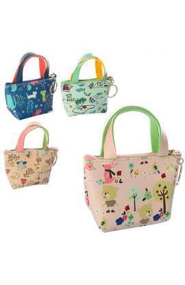 Гаманець X11557 сумочка, застібка-блискавка, 4 види, кул., 11-8-5 см.