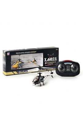 Гелікоптер 6021 радіокер., гіроскоп, 4 канали, світло, USB, кор., 44-17,5-7,5 см