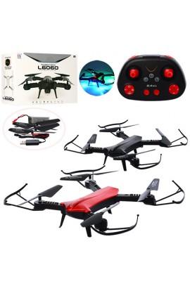 Квадрокоптер L6060 радіокер., 2,4G, акум., USB зарядне, запасні лопасті, 2 кольори, світло, кор., 8,