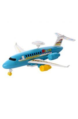 Літак 314 заводний, кул., 23,5-7-20 см.