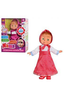 Лялька MM 4615 інтерактивна, 2 вида, більше 800 слів, пісні, казка, бат., кор., 39-27-12 см