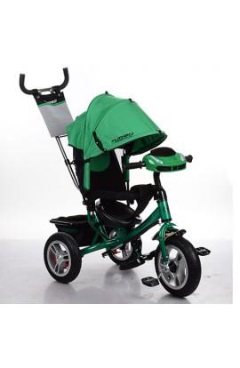 Велосипед M 3115HA-N4 3 гум. кол. (12/10) колясочний, вільний хід кол., гальм. підшипн., зелений, му